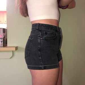 PacSun Shorts - Pacsun Black Jean Shorts